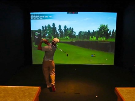 Book Your Tee Time For TruGolf Simulator #2: 1-6 Players