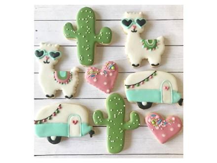 Llama Cookie Class