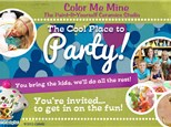 Pottery Painting Party at COLOR ME MINE - MILL CREEK