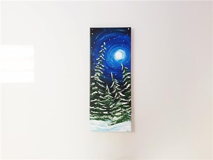 Winter Pines (adult) Canvas Class