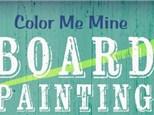 Board Art: Painter's Choice - November 29, 2017