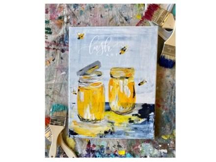 Honey Jars Paint Class