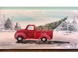 Snowy Truck Paint Class