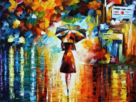 "Canvas Night ""The Rain Princess"" Saturday, October 1st 7-10pm"