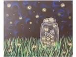 Color Me Canvas - Catchin' Fireflies