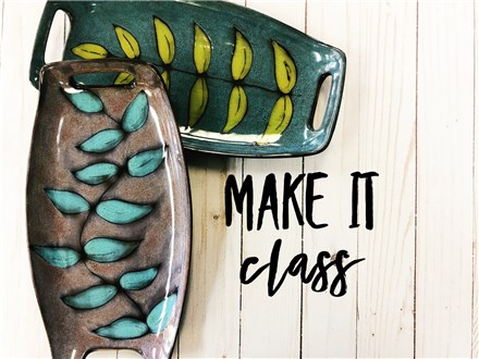 Make It Class at POTTERY BY YOU! (Class Fee)