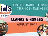 Llamas & Horses: Summer Camp - August 10-14