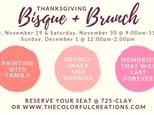 Bisque + Brunch