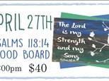 April 27th DIY Wood Board