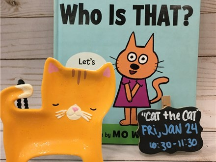 Pre-K Story Time: Cat the Cat Who is That?
