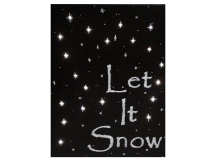Let It Snow, a lighted canvas - Christmas Creation - Dec 17