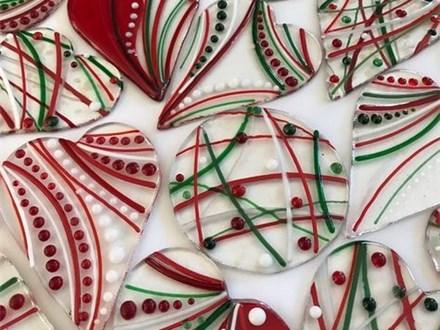 """Glass Ornaments - """"Ornaments"""" Dec. 11/19"""
