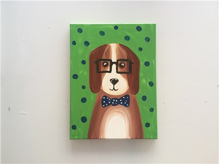 Professor Beagle (kids ages 6+) Canvas Class