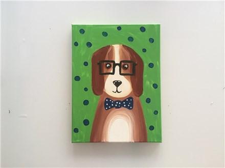 Professor Beagle (kids ages 6+) Canvas Class