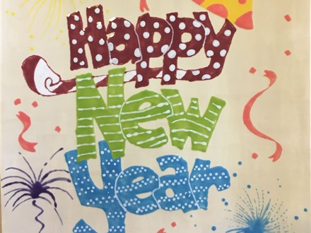 Adult Pottery - Happy New Year Platter - Evening Session - 01.05.18