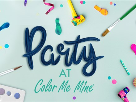Color Me Mine Birthday Party
