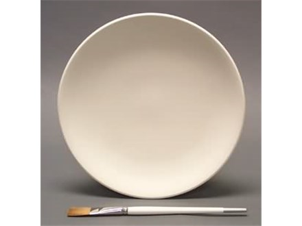 """Coupe 10"""" Dinner Plate - Ready to Paint"""