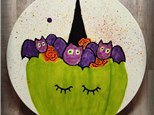 """10"""" Coupe Dinner Plate - Halloween Style"""