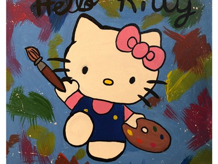 Kid's Canvas - Hello Kitty - Evening Session - 01.23.19