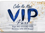 VIP Pass - Buy One Get One Free