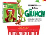 THE GRINCH KIDS NIGHT OUT - NOVEMBER 22ND 5PM - 7PM
