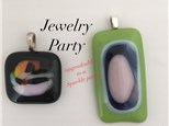 Glass Art JEWELRY Party (2 Hours) Age 10 to Adult