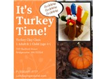 Clay Turkey Parent/Child Class - 11/04