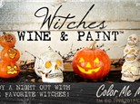 Witches Wine & Paint at COLOR ME MINE - RIDGEWOOD