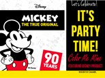You invited to celebrate Mickey's 90th Birthday!
