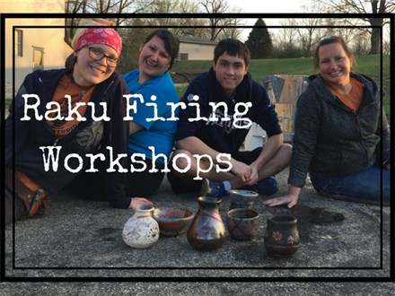 Raku Pottery Firing Workshop