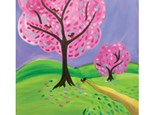 Spring Into Pink Canvas - Palisades Center