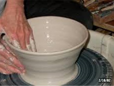 Pottery Wheel Class (Friday am Fall II 2017)