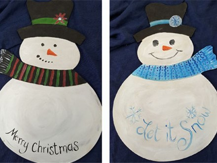 Craft N Party Double Snowman