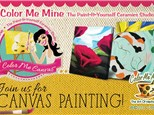 Canvas Class for Adults! June 2nd