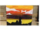 Adult Paint Your Pet Silhouette - Aug 4th