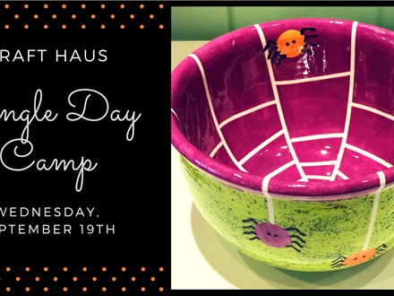 School Holiday Camp: Halloween Candy Bowl