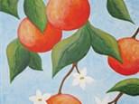 Adult Canvas - Orange Tree - 06.30.17