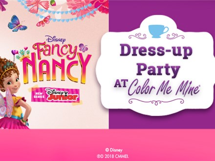 Fancy Nancy Dress-Up Party - July 21 @ 10am