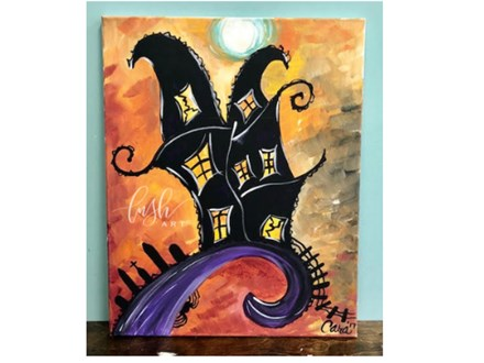Haunted House Paint Class
