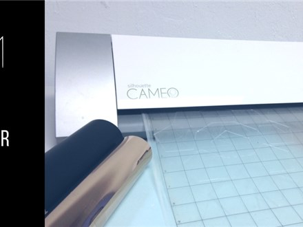 Intro to the Silhouette Cameo Vinyl Cutter