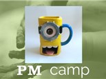 Minion Cookie Mug (Animation Action) August 1st, Afternoon Camp 2017