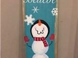 """Believe"" Board Art, Sunday January 15th 11a-1p"