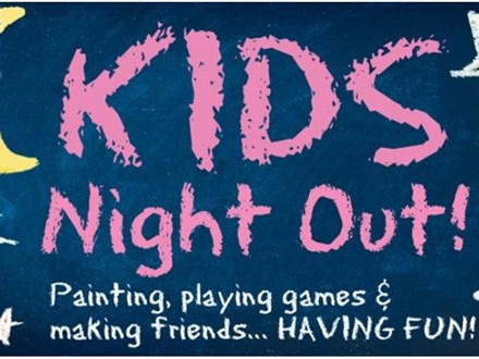 Kids Night Out! Candy Cane Holiday Party! December 15
