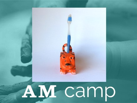 Animal Toothbrush Holder (FLOOFY FRIENDS) August 2nd, Morning Camp 2018