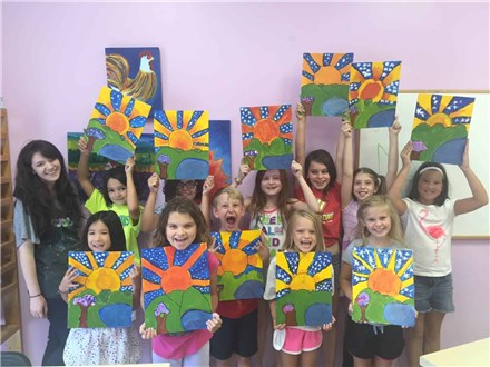 Pop Art Camp at The Art Garage