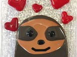 Fused Glass - Sloth Dish - Evening Session - 02.16.18