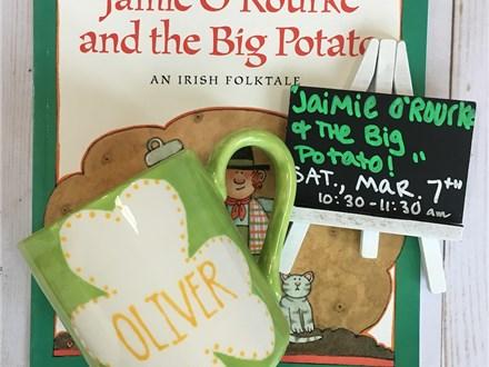 "Pre-K Story Time: ""Jamie O'Rourke and the Big Potato"""