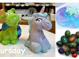 Thursday, August 9th- Dragons and Unicorns- 12pm to 4pm
