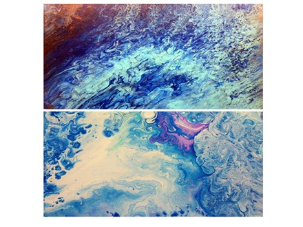 Adult Dirty Acrylic Canvas Painting Class - Dec. 9th