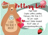 Pottery Love Paint Date